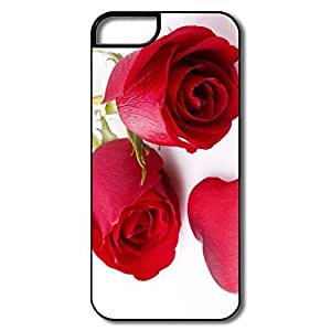 Case For Samsung Galaxy S5 Cover Case, Red Roses White/black Cover Case For Samsung Galaxy S5 Cover