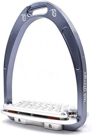 BR Tech Stirrups Steigbügel -Athena Plus- Titanium Größe/Farbe 125 / Titanium