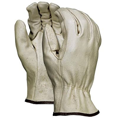 Aviditi GLV1061XL Pigskin Leather Drivers Gloves, X-Large, Tan (Case of 6)