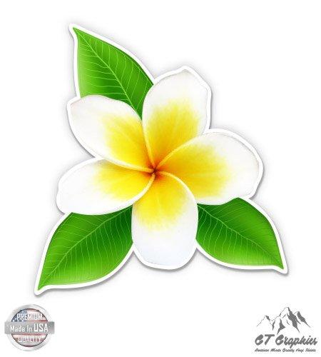 GT Graphics White Plumeria Pretty Hawaii Tropical - 3