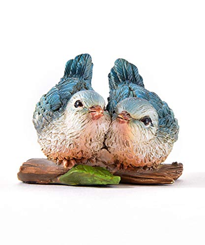 Gift Craft Miniature Woodland Animal Fairy Garden Mini Forest Polystone Figurines (Bird ()