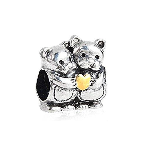 - 925 925 Sterling Silver - Fits European Charm Bracelets ()