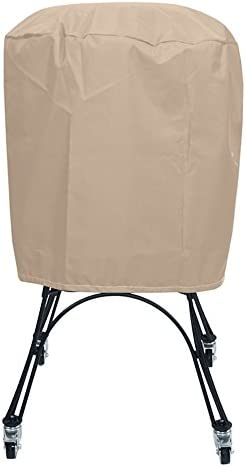 Protective Covers Weatherproof Patio Table and Highback Chair Set Cover, 48 Inch x 54 Inch, Round Table, Tan