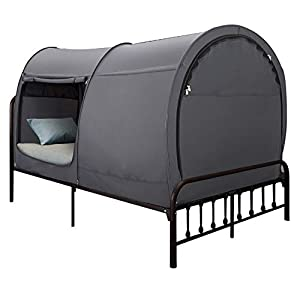 Alvantor Bed Canopy Bed Tents Dream Tents Privacy Space Single Size Sleeping Tents Indoor Pop Up Portable Frame Curtains