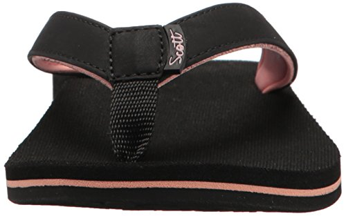 Hawaii Women's Black Panina Flip Flop Scott AwndqBCxA