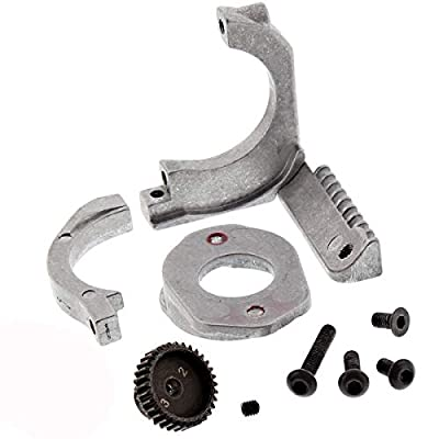 HPI 1/10 RS4 Sport 3 Flux 4WD Aluminum Motor Mount & 32T HD Pinion Gear: Toys & Games