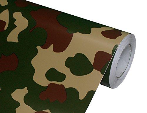 Hachi Auto Camouflage Camo Woodland Vinyl Car Wrap (Sand Vinyl Tack)