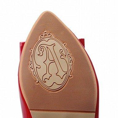 Cómodo y elegante soporte de zapatos de tacón para mujer primavera verano otoño plataforma comodidad diseño de charol piel sintética boda oficina y carrera partido y vestido de noche Casual blanco