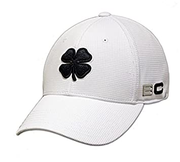 NEW Black Clover Live Lucky BC Iron 1 White Black Fitted S M Hat Cap by Black  Clover  Amazon.co.uk  Sports   Outdoors f35721b2f406