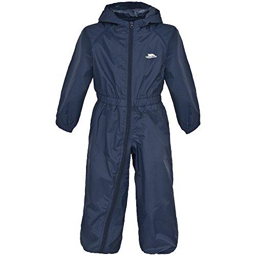 Trespass Childrens/Kids Button Waterproof Rain Suit (7/8 ...