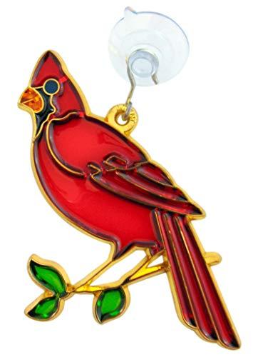 Westman Works Cardinal Bird Sun Catcher Window Ornament Suncatcher Decoration