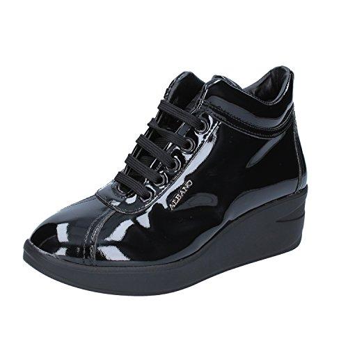 Albano Damen Sneaker Schwarz Schwarz