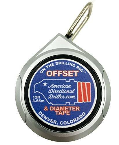 American Directional Driller, On The Drilling Rig, MWD Offset & Diameter Tape -