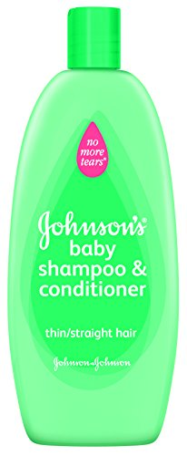 Shampooing pour bébés de Johnson No More Tangles Shampooing, 2in1 formule, Thin / cheveux raides, 13 once (Pack de 2)