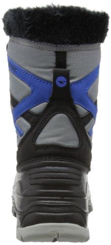HI-TEC Avalanche WP Bota de Senderismo Junior Negro/Gris/Azul