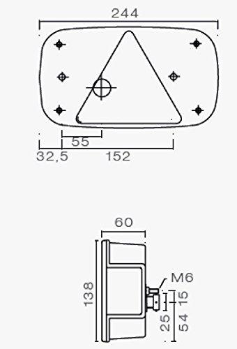 B/ünte BUE10648 Multipoint LLL Sinistra