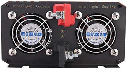 Solar Wechselrichter, Solar Power Inverter 1500W Reine Sinuswelle Hochfrequenz Solar Wechselrichter 220V Ausgangsspannung reine sinuswelle hochfrequenzinverter Solarstrom Inverter solarinverter (24V)
