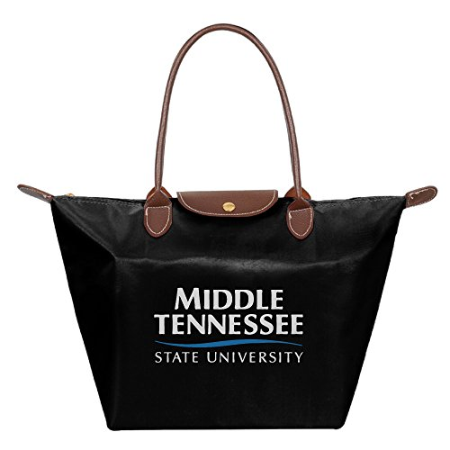 Middle Tennessee State University MTSU Waterproof Foldable Tote Bags Shopping Beach Shoulder Handbags Purse Tote Shoulder Bag - Shopping Murfreesboro