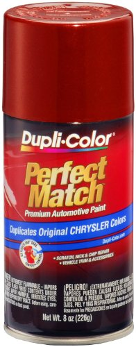 Dupli-Color EBCC04247 Chili Pepper Red Pearl Chrysler Perfect Match Automotive Paint - 8 oz. Aerosol Pearl Pepper