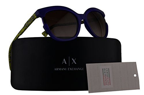 Armani Exchange AX4065S Sunglasses Opal Violet w/Brown Gradient Lens 55mm 822213 AX - Exchange Sunglasses Armani Cheap