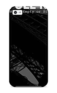 Premium LpsFOIa106aNeDU Case With Scratch-resistant/ Eiffel Tower Black And White Desktop Case Cover For Iphone 5c