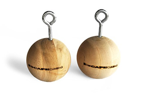 "Escape Climbing 4"" Wood Power Ball Pack 