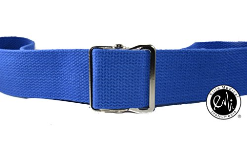 EMI-60-Gait-Transfer-Belt-ROYAL-with-METAL-Buckle-100-Cotton-624-M-Roy