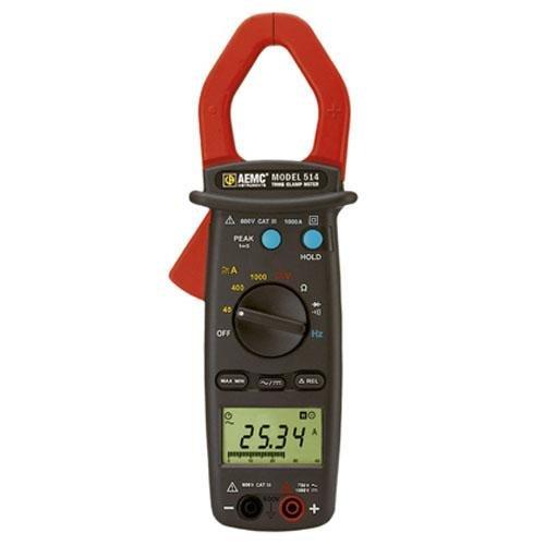 AEMC 2117.70, 514 General Purpose Professional Clamp-On Meter