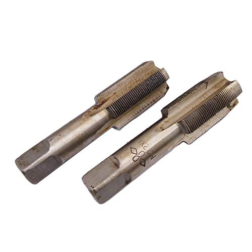 Metric Hand Tap Plug - HSS 22mm x 1 Metric Taper and Plug Tap Right Hand Thread M22 x 1mm Pitch