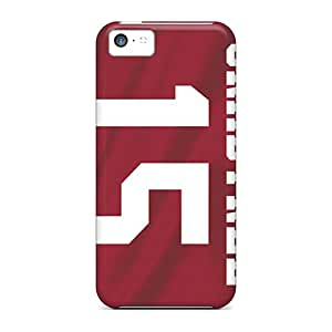 Protector Hard Cell-phone Cases For Iphone 5c With Support Your Personal Customized High Resolution San Francisco 49ers Pattern DannyLCHEUNG