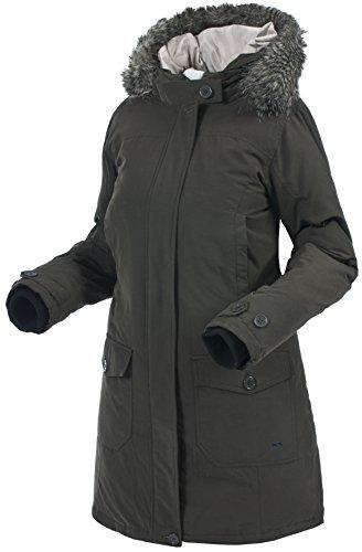 Trespass Glacial–Chaqueta de plumón para hombre, mujer, Glacial, verde oscuro, 5X-Small verde oscuro
