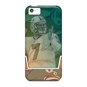 Hard Plastic Iphone 5c Cases Back Covers,hot Miami Dolphins Cases At Perfect Customized