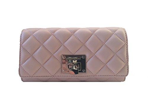 Michael Kors Astrid Blossom Pink Leather Carryall (Michael Kors Push Lock)