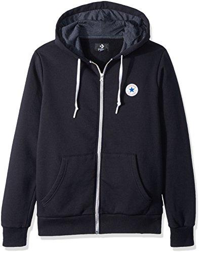 Homme Hoodie Zip Core Capuche shirt Full Sport Noir De Converse Sweat À W1vgSqnx1