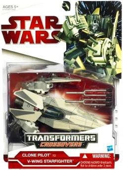 - Star Wars Transformers Crossovers - Imperial V-Wing