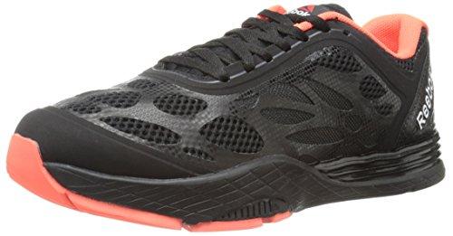 Reebok Women's Cardio Ultra Training Shoe, Black/Vitamin C/Gravel, 6.5 M US