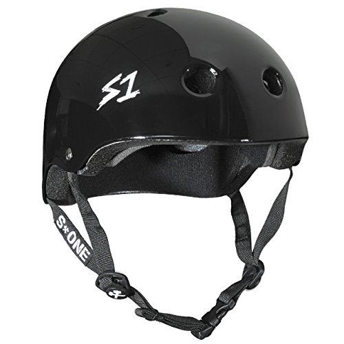 (S-ONE Lifer CPSC - Multi-Impact Helmet - Black Gloss Small (21