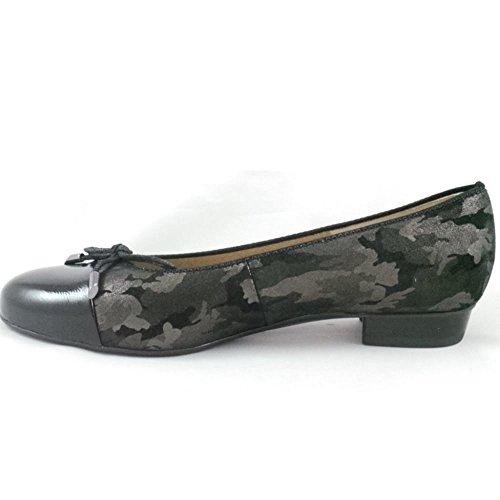 ara , Damen Ballerinas schwarz schwarz
