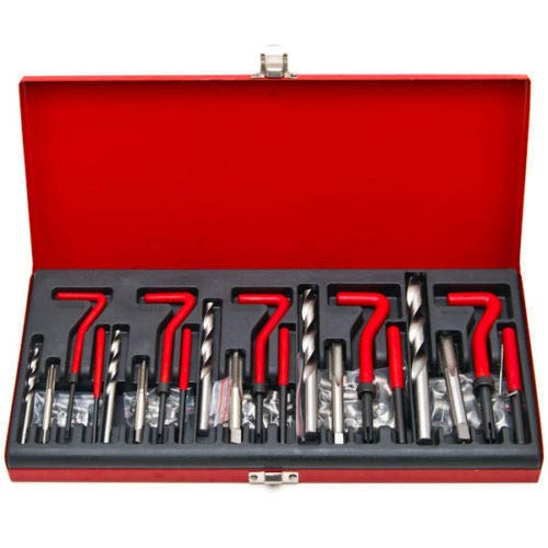 (131pc Thread Repair Tool Kit Helicoil Type Include Size M5 M6 M8 M10 M12)