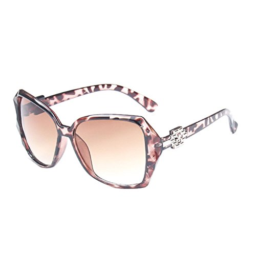 Sinkfish SG50011 Sunglasses for Womens,Anti-UV & Fashion Oval/Brown Frames/Coffee - Gucci Sunglases