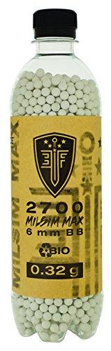 Umarex Elite Force Premium Biodegradable 6mm Airsoft BBS Ammo.32 Gram (Milsim Max), 2700 Count