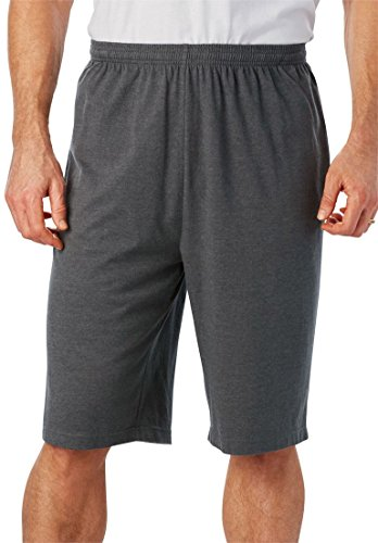 KingSize Mens Big & Tall Lightweight Extra Long Shorts