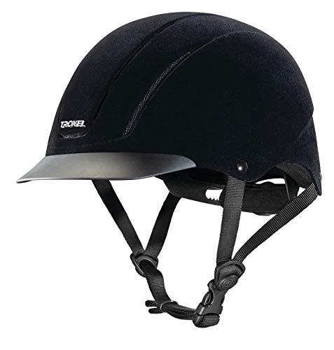 Troxel Capriole Velvet Flock Helmet, -