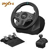 PXN V9 PS4 Racing Wheel,270/900° Rotating Racing