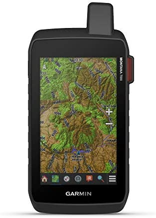 "Garmin Montana 700i, Rugged GPS Handheld with Built-in inReach Satellite Technology, Glove-Friendly 5"" Color Touchscreen"