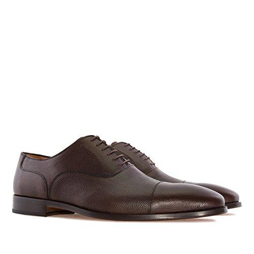 Andres Machado.5969.oxford Schoenen In Leer.gemaakt In Spanje.mens Grote Maten: Us M13 Tot M16 Bruin 1 Leer