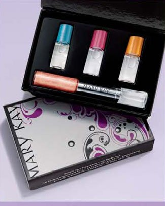 Mary Kay Simply Chic Fragrance - Lip Gloss Duo