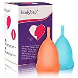 Bodybay Menstrual Cup, Set of 2 Periods Kit with