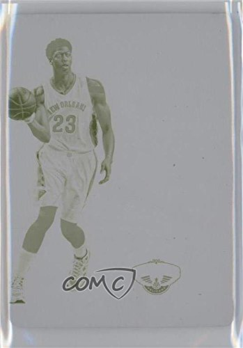 (Anthony Davis #1/1 (Basketball Card) 2014-15 Panini National Treasures - Colossal Logomen - 15-16 National Treasures Printing Plate Yellow #CL-AD)
