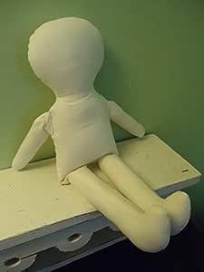 1 LIGHT TAN Cotton 15 Rag Doll Body-form-blank-craft Supply-katiesdolls
